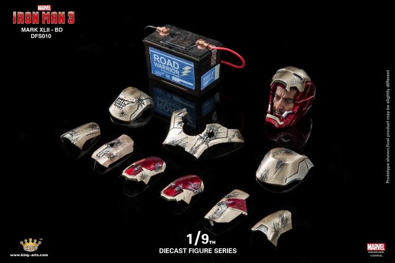 Iron Man 3 - Mark 42 - 1/9 Diecast (King Arts) 06325710