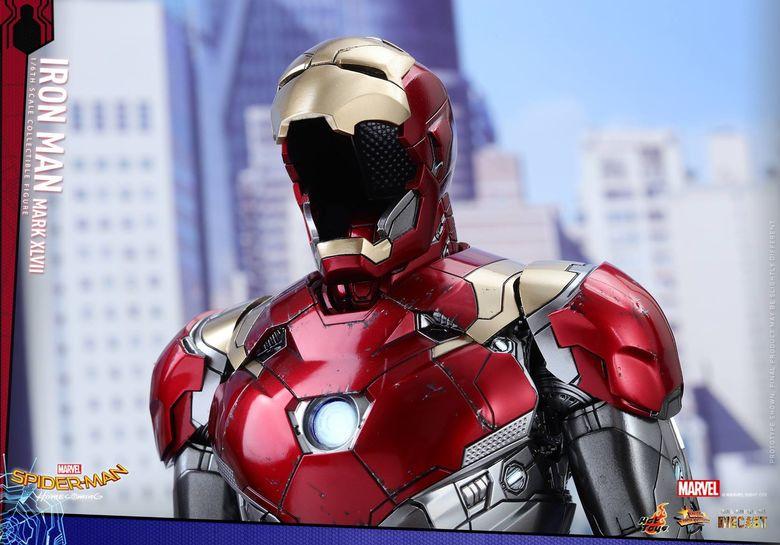 Iron Man Mark XLVII - Diecast 1/6 - Spider-Man homecoming (Hot toys) 14543810