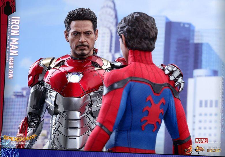 Iron Man Mark XLVII - Diecast 1/6 - Spider-Man homecoming (Hot toys) 14544410