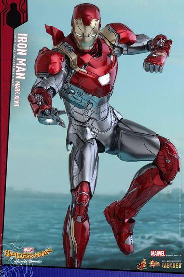 Iron Man Mark XLVII - Diecast 1/6 - Spider-Man homecoming (Hot toys) 14545410