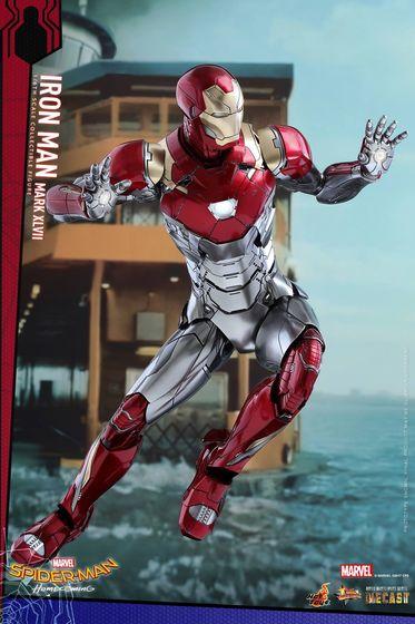 Iron Man Mark XLVII - Diecast 1/6 - Spider-Man homecoming (Hot toys) 14551010