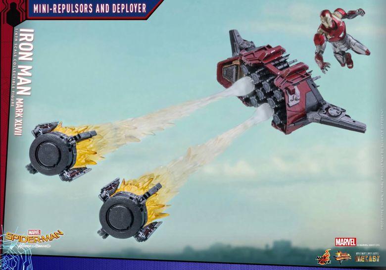 Iron Man Mark XLVII - Diecast 1/6 - Spider-Man homecoming (Hot toys) 14552510