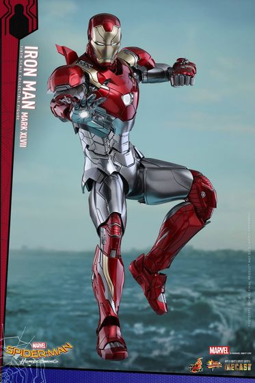 Iron Man Mark XLVII - Diecast 1/6 - Spider-Man homecoming (Hot toys) 14553110