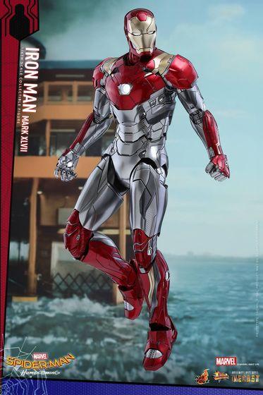 Iron Man Mark XLVII - Diecast 1/6 - Spider-Man homecoming (Hot toys) 14555210