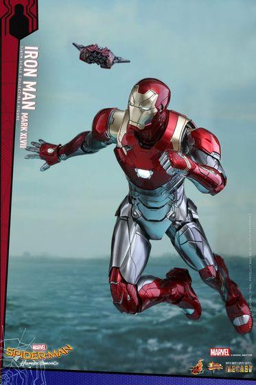 Iron Man Mark XLVII - Diecast 1/6 - Spider-Man homecoming (Hot toys) 14560410