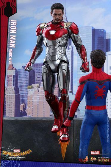 Iron Man Mark XLVII - Diecast 1/6 - Spider-Man homecoming (Hot toys) 14560910