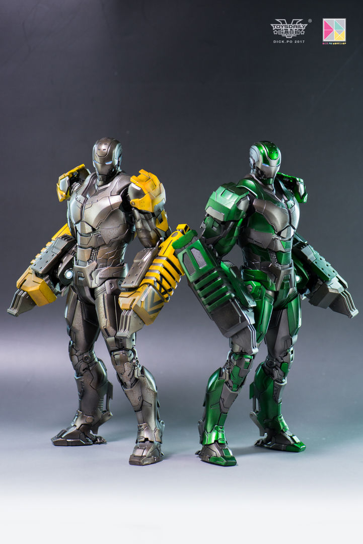 Iron Man 3 - Mark 25 et Mark 26 - 1/9 Diecast (King Arts)  16004110