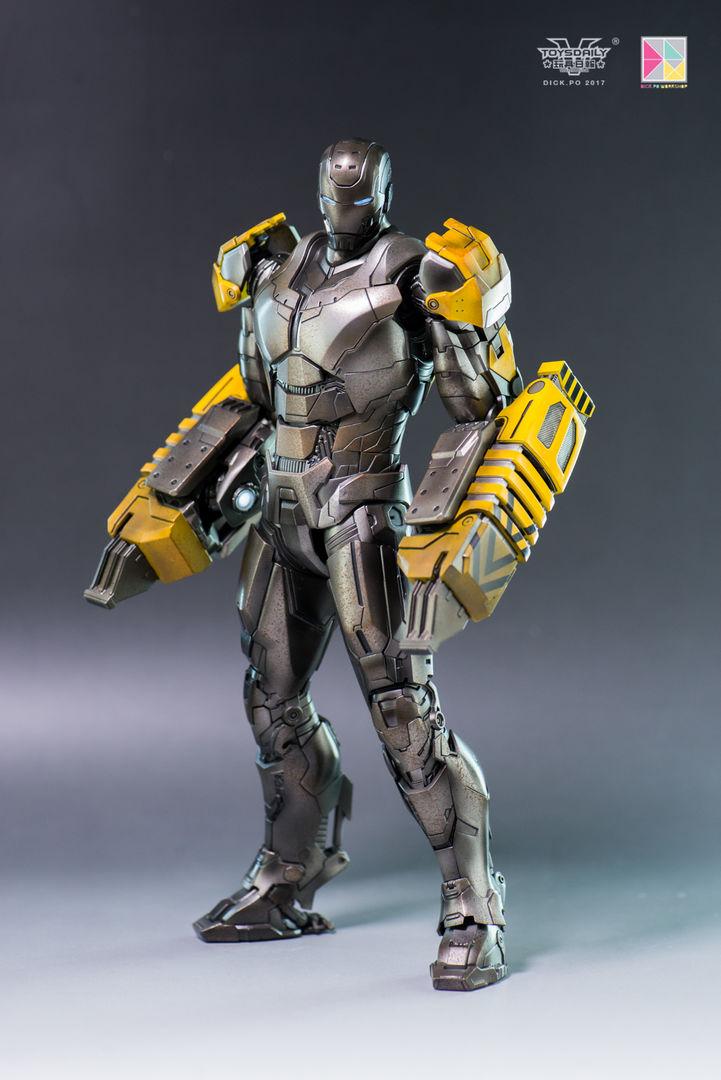 Iron Man 3 - Mark 25 et Mark 26 - 1/9 Diecast (King Arts)  16004210