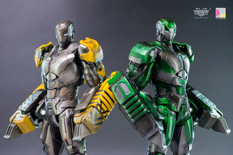 Iron Man 3 - Mark 25 et Mark 26 - 1/9 Diecast (King Arts)  16004211