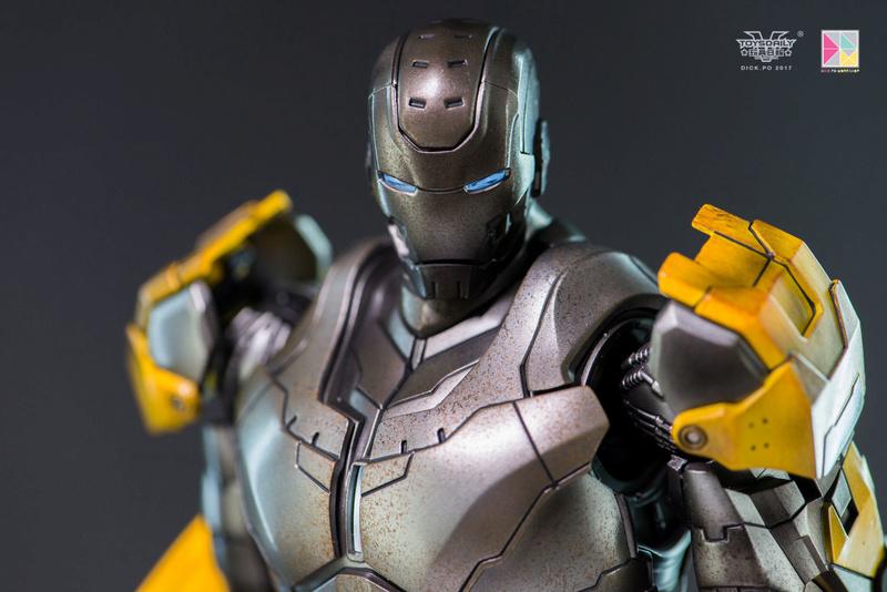 Iron Man 3 - Mark 25 et Mark 26 - 1/9 Diecast (King Arts)  16004310