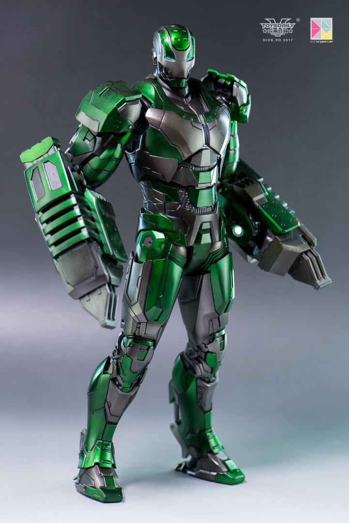 Iron Man 3 - Mark 25 et Mark 26 - 1/9 Diecast (King Arts)  16004610