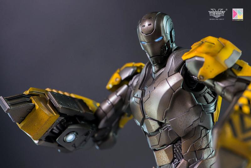 Iron Man 3 - Mark 25 et Mark 26 - 1/9 Diecast (King Arts)  16004611