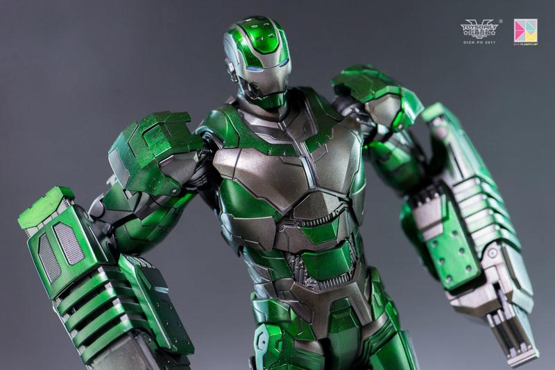 Iron Man 3 - Mark 25 et Mark 26 - 1/9 Diecast (King Arts)  16004710