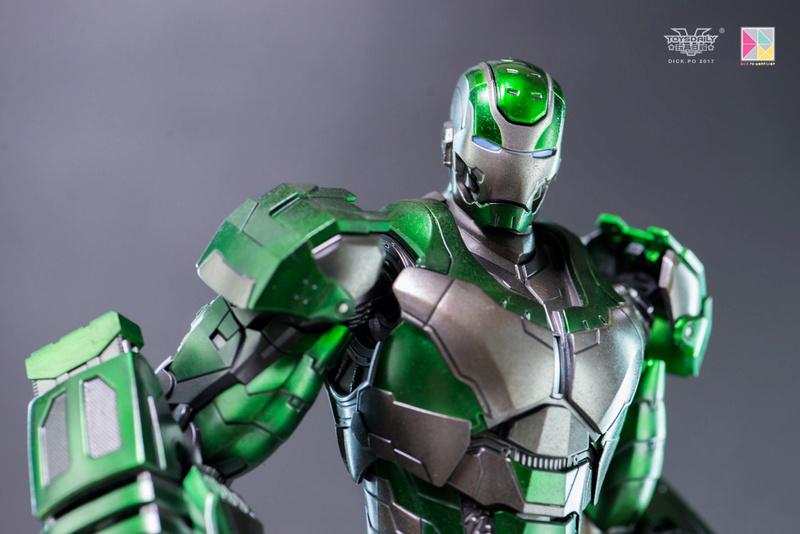 Iron Man 3 - Mark 25 et Mark 26 - 1/9 Diecast (King Arts)  16004711