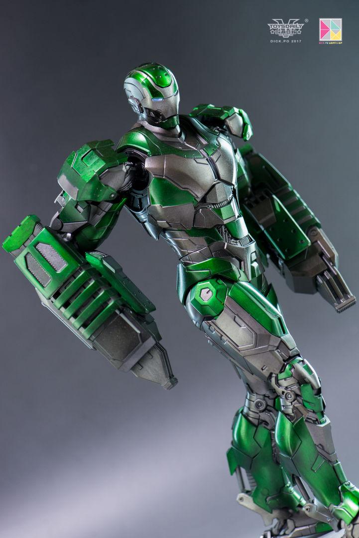 Iron Man 3 - Mark 25 et Mark 26 - 1/9 Diecast (King Arts)  16004810