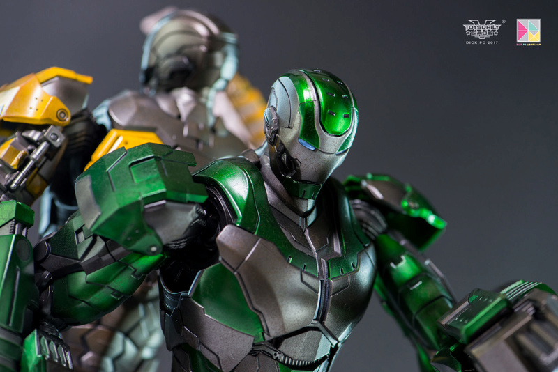 Iron Man 3 - Mark 25 et Mark 26 - 1/9 Diecast (King Arts)  16005310