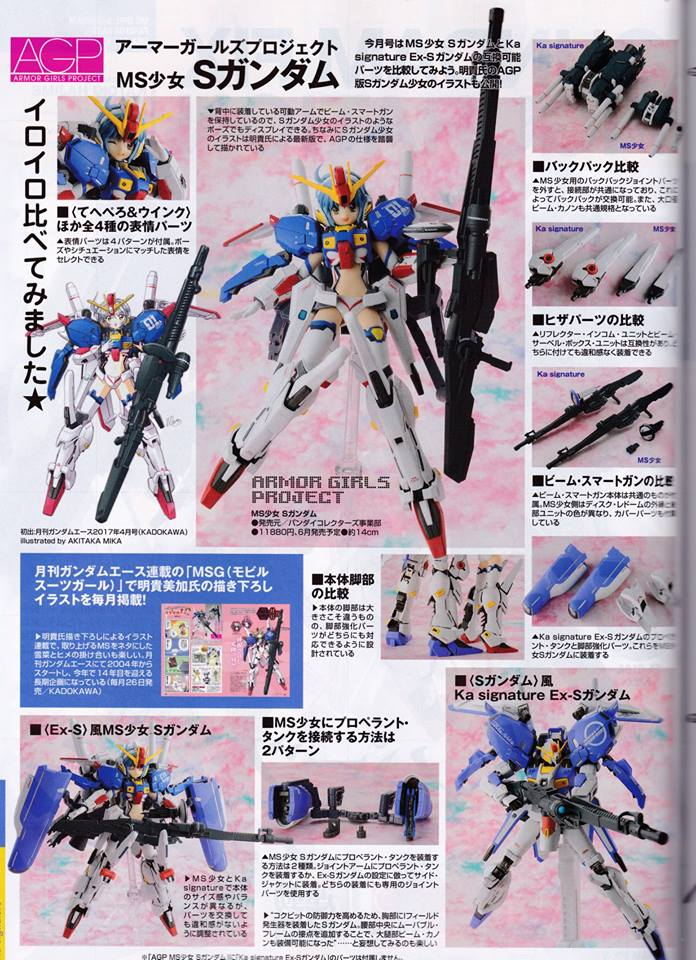 Gundam Fix Figuration AGP (Armor Girls Project) - Page 2 16201011