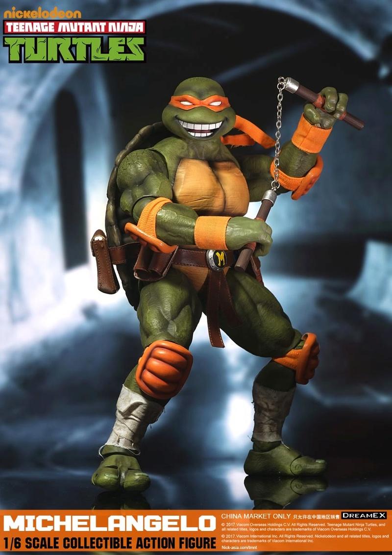 Teenage Mutant Ninja Turtles 1/6 - Tortues Ninja (DreamEX) 17560313