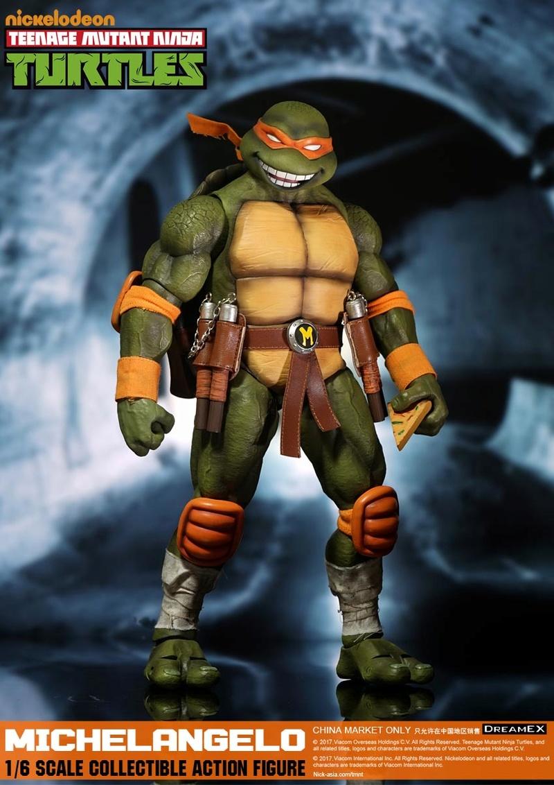 Teenage Mutant Ninja Turtles 1/6 - Tortues Ninja (DreamEX) 17560314