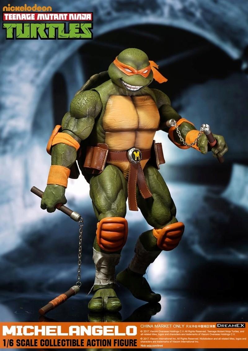 Teenage Mutant Ninja Turtles 1/6 - Tortues Ninja (DreamEX) 17560315