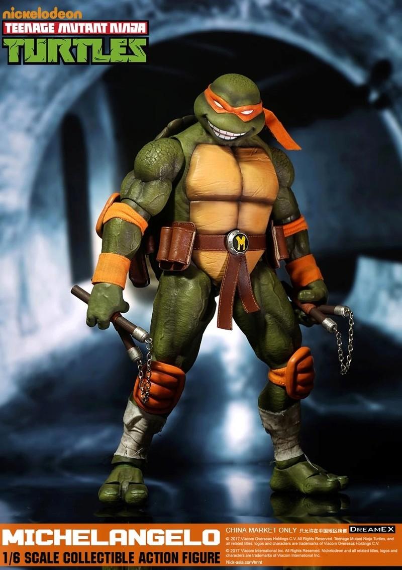 Teenage Mutant Ninja Turtles 1/6 - Tortues Ninja (DreamEX) 17560416