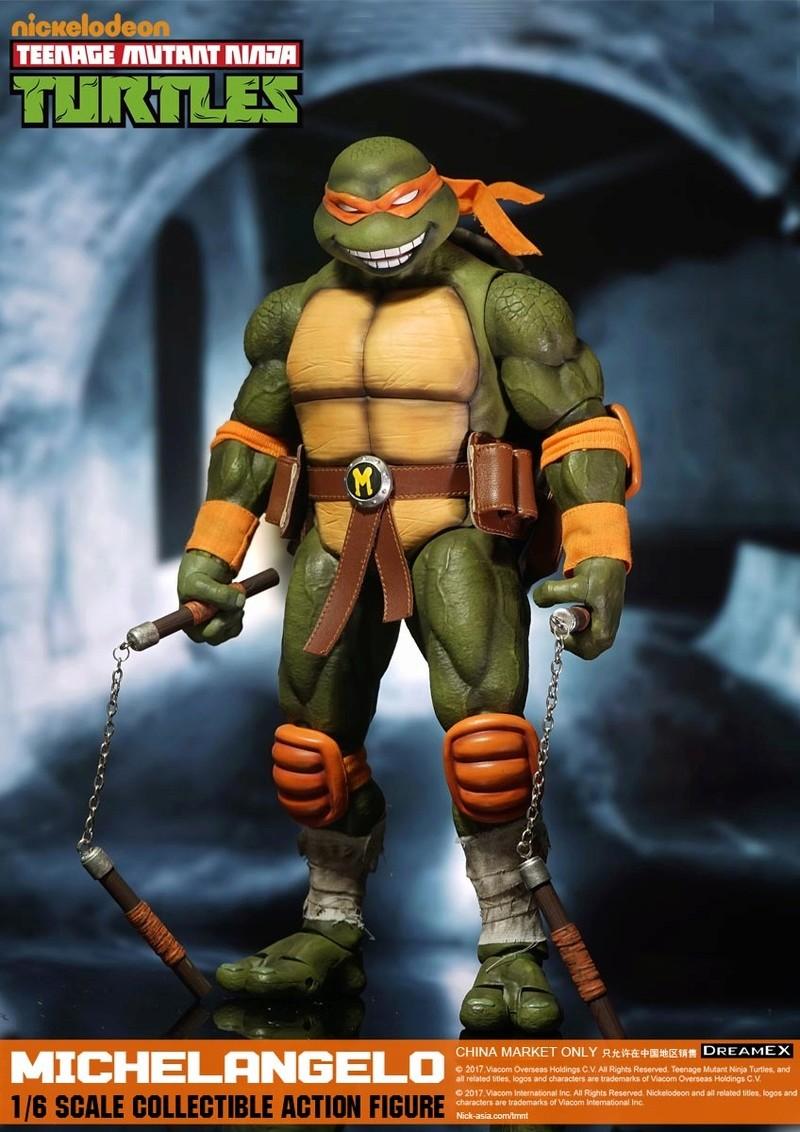 Teenage Mutant Ninja Turtles 1/6 - Tortues Ninja (DreamEX) 17560417