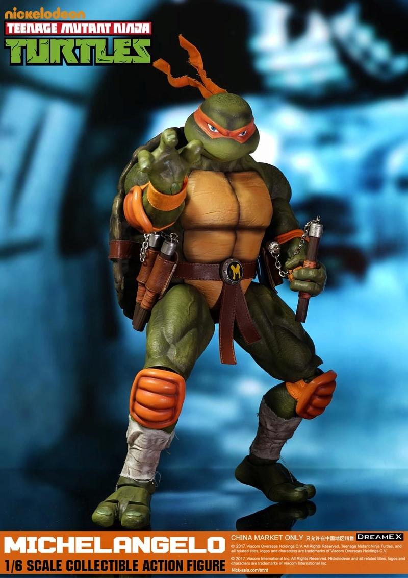Teenage Mutant Ninja Turtles 1/6 - Tortues Ninja (DreamEX) 17560418