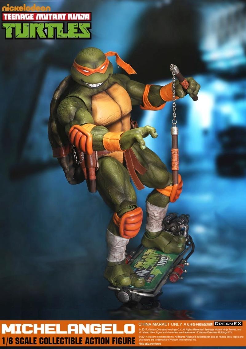 Teenage Mutant Ninja Turtles 1/6 - Tortues Ninja (DreamEX) 17560419