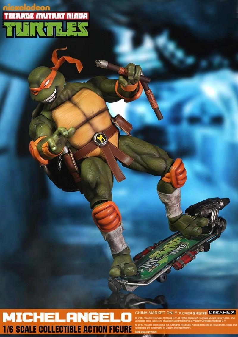 Teenage Mutant Ninja Turtles 1/6 - Tortues Ninja (DreamEX) 17560420