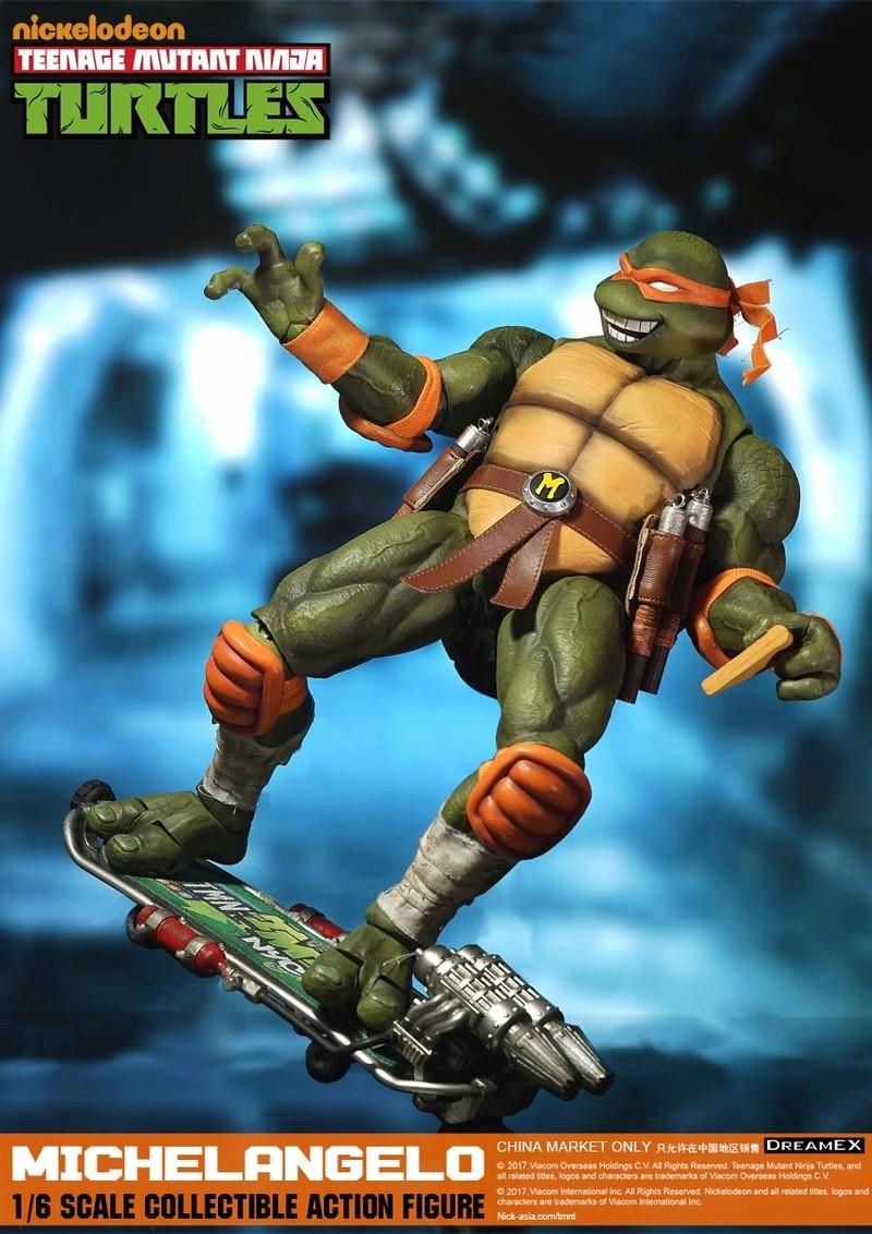 Teenage Mutant Ninja Turtles 1/6 - Tortues Ninja (DreamEX) 17560421