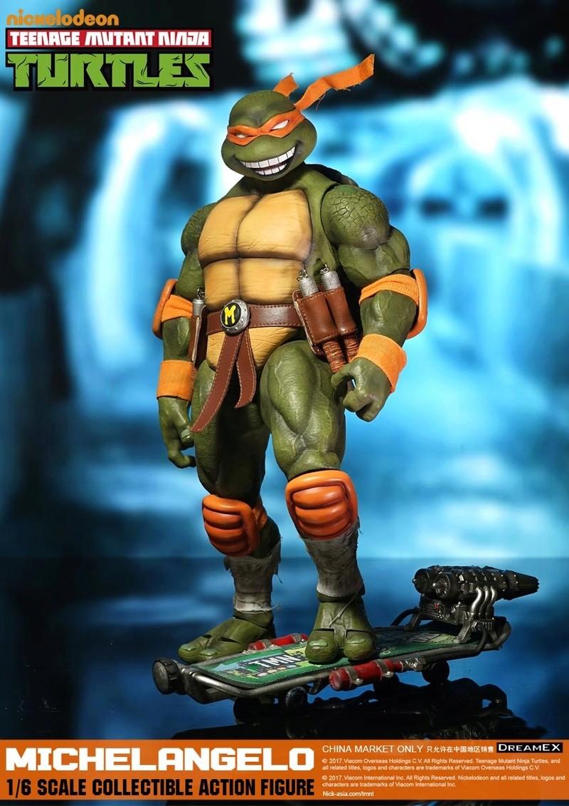 Teenage Mutant Ninja Turtles 1/6 - Tortues Ninja (DreamEX) 17560422