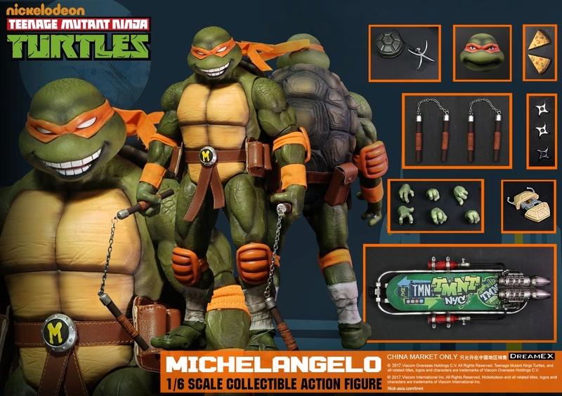 Teenage Mutant Ninja Turtles 1/6 - Tortues Ninja (DreamEX) 17560510