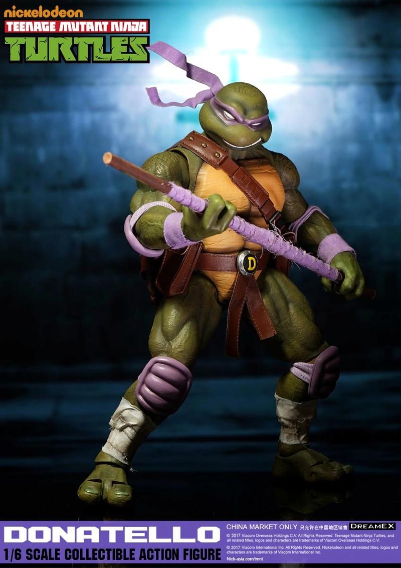 Teenage Mutant Ninja Turtles 1/6 - Tortues Ninja (DreamEX) 17565410