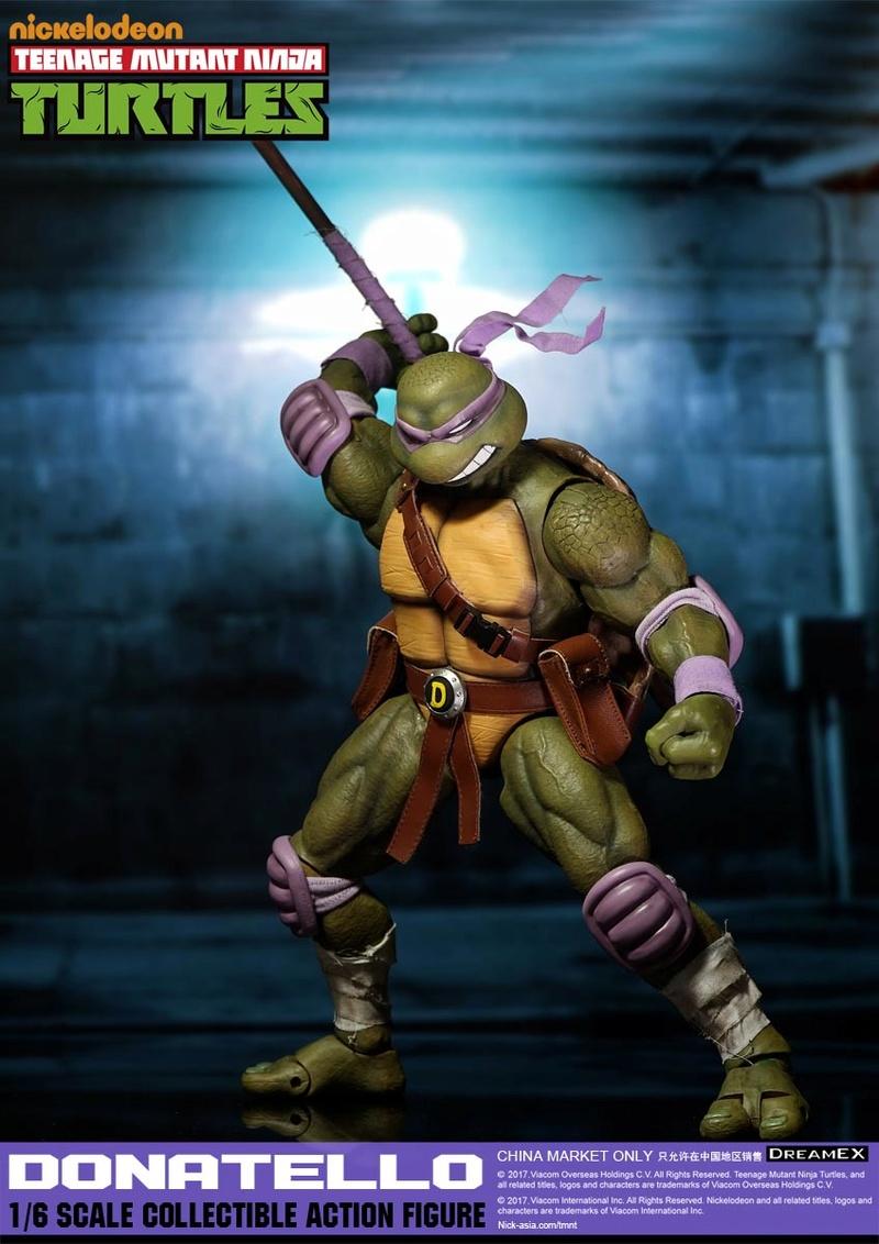 Teenage Mutant Ninja Turtles 1/6 - Tortues Ninja (DreamEX) 17565411