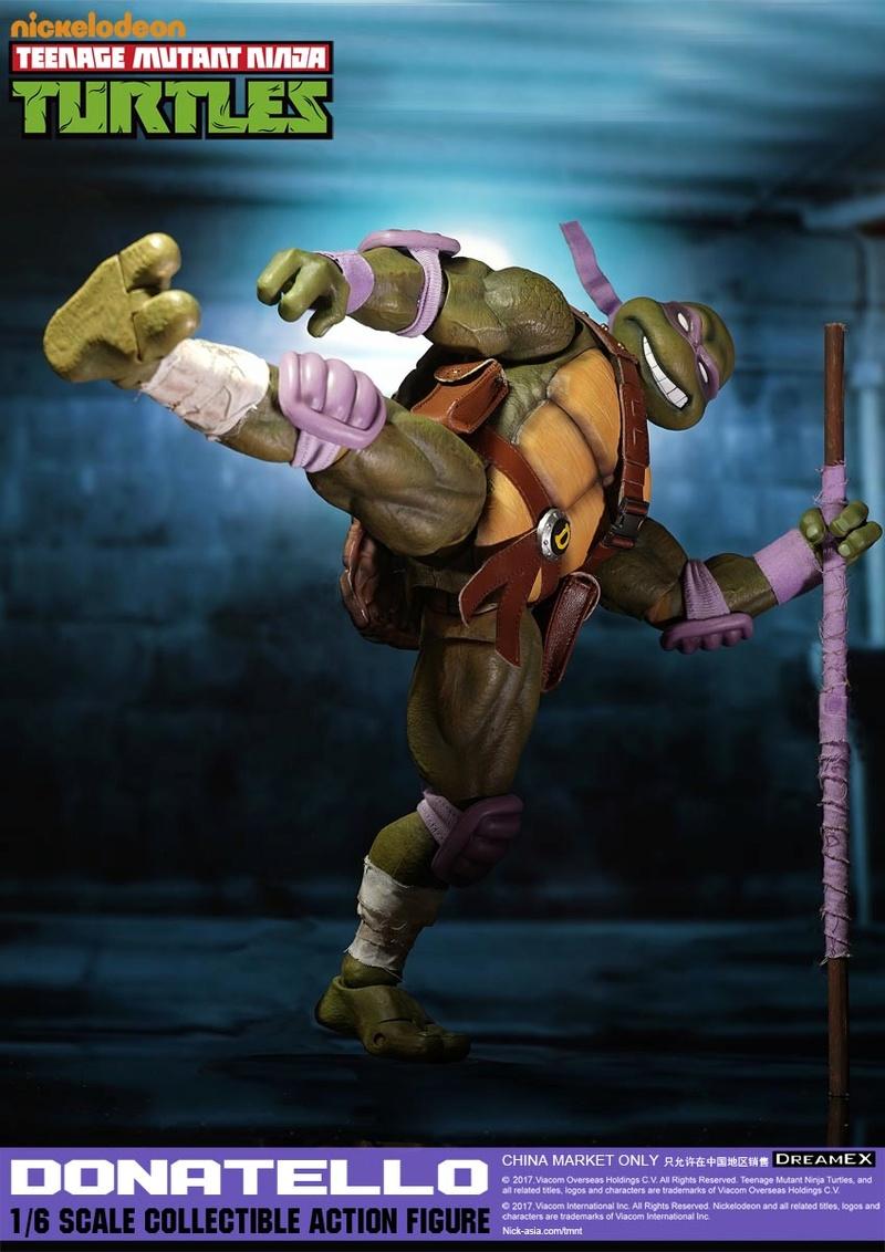 Teenage Mutant Ninja Turtles 1/6 - Tortues Ninja (DreamEX) 17565510