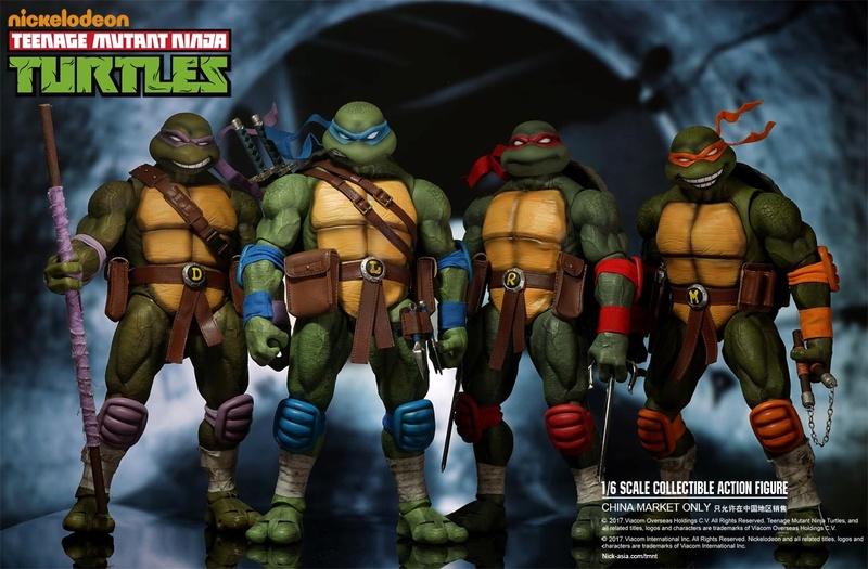 Teenage Mutant Ninja Turtles 1/6 - Tortues Ninja (DreamEX) 17565512