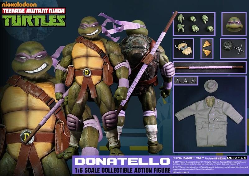 Teenage Mutant Ninja Turtles 1/6 - Tortues Ninja (DreamEX) 17565513