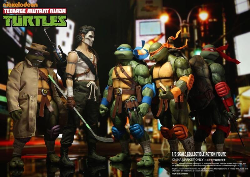 Teenage Mutant Ninja Turtles 1/6 - Tortues Ninja (DreamEX) 17565610