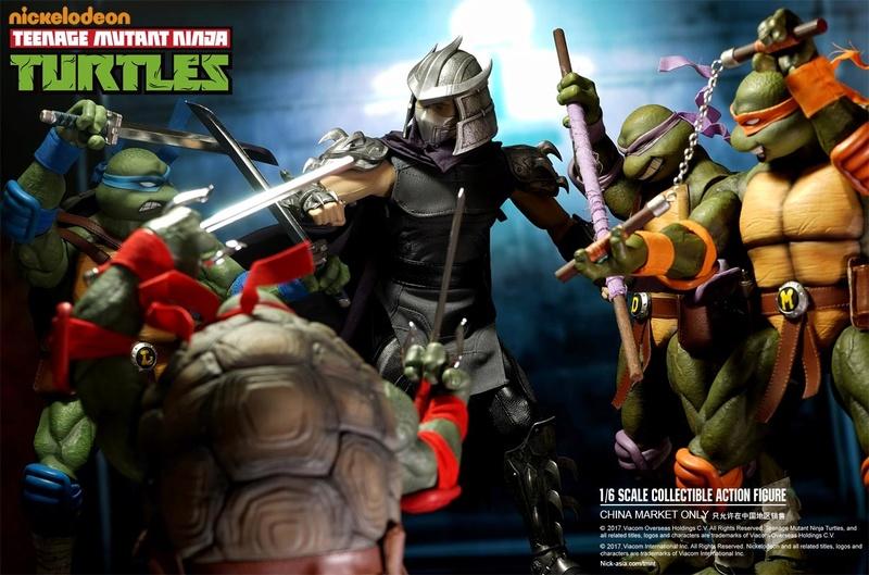 Teenage Mutant Ninja Turtles 1/6 - Tortues Ninja (DreamEX) 17565611