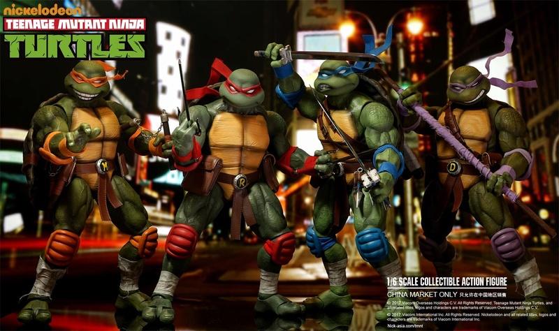 Teenage Mutant Ninja Turtles 1/6 - Tortues Ninja (DreamEX) 17565612