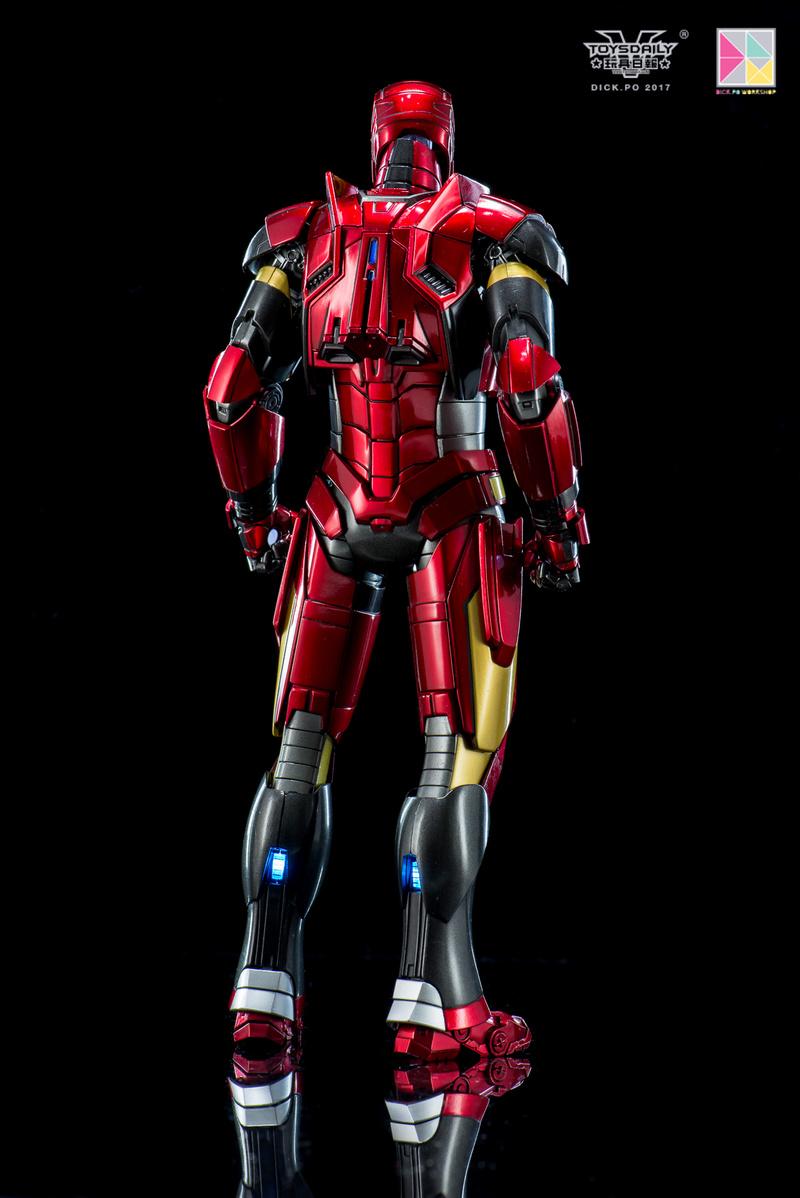 Iron Man 3 - Mark 16 NightClub - 1/9 Diecast (King Arts)  18054510