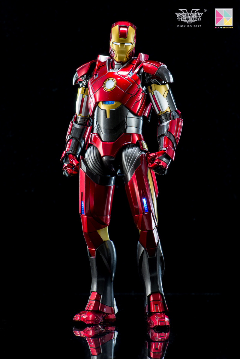 Iron Man 3 - Mark 16 NightClub - 1/9 Diecast (King Arts)  18054511