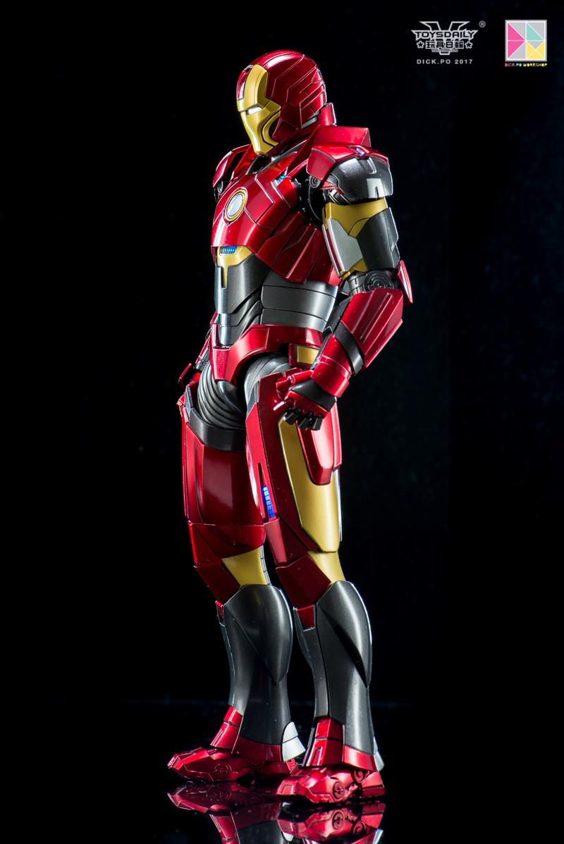 Iron Man 3 - Mark 16 NightClub - 1/9 Diecast (King Arts)  18054512