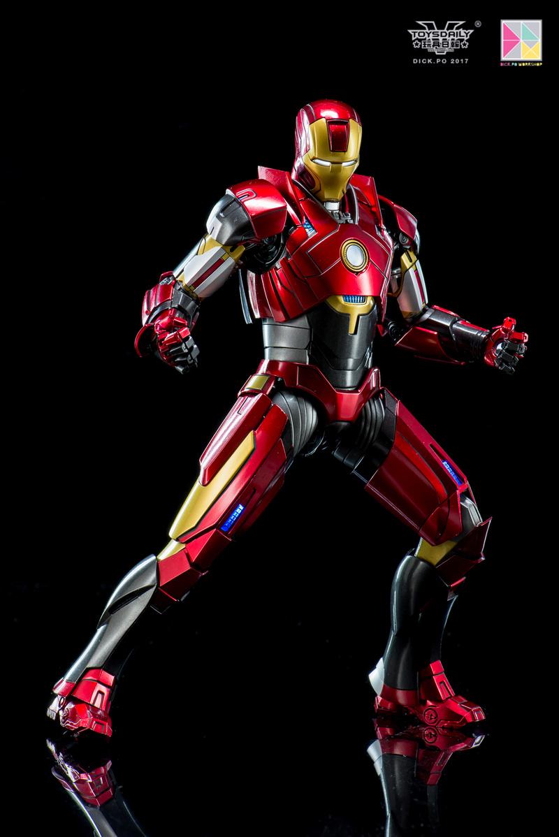 Iron Man 3 - Mark 16 NightClub - 1/9 Diecast (King Arts)  18054610