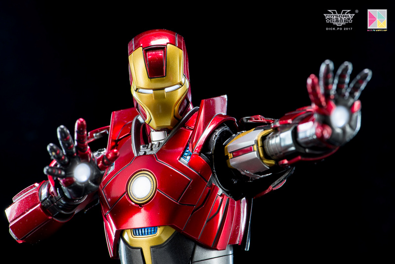 Iron Man 3 - Mark 16 NightClub - 1/9 Diecast (King Arts)  18054710