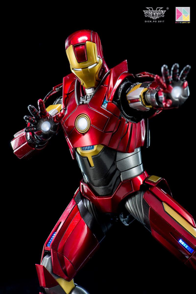 Iron Man 3 - Mark 16 NightClub - 1/9 Diecast (King Arts)  18054711