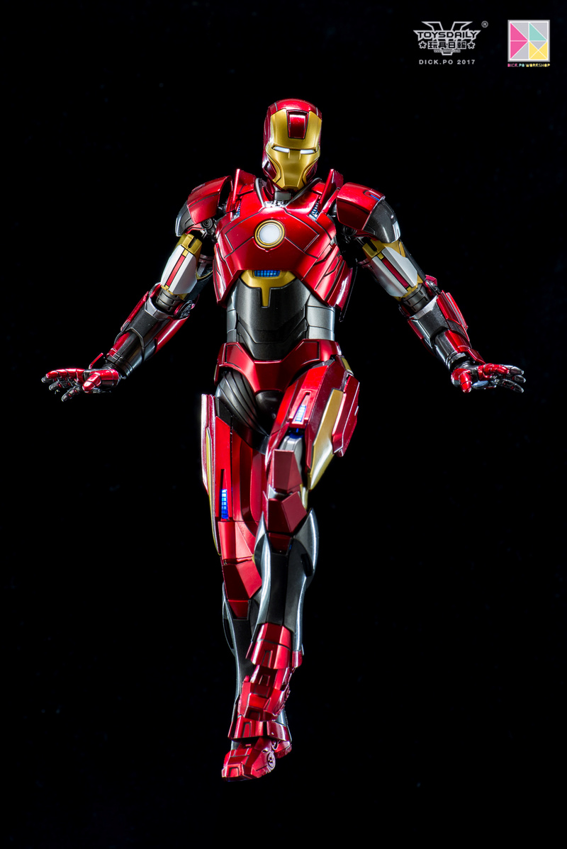 Iron Man 3 - Mark 16 NightClub - 1/9 Diecast (King Arts)  18054810