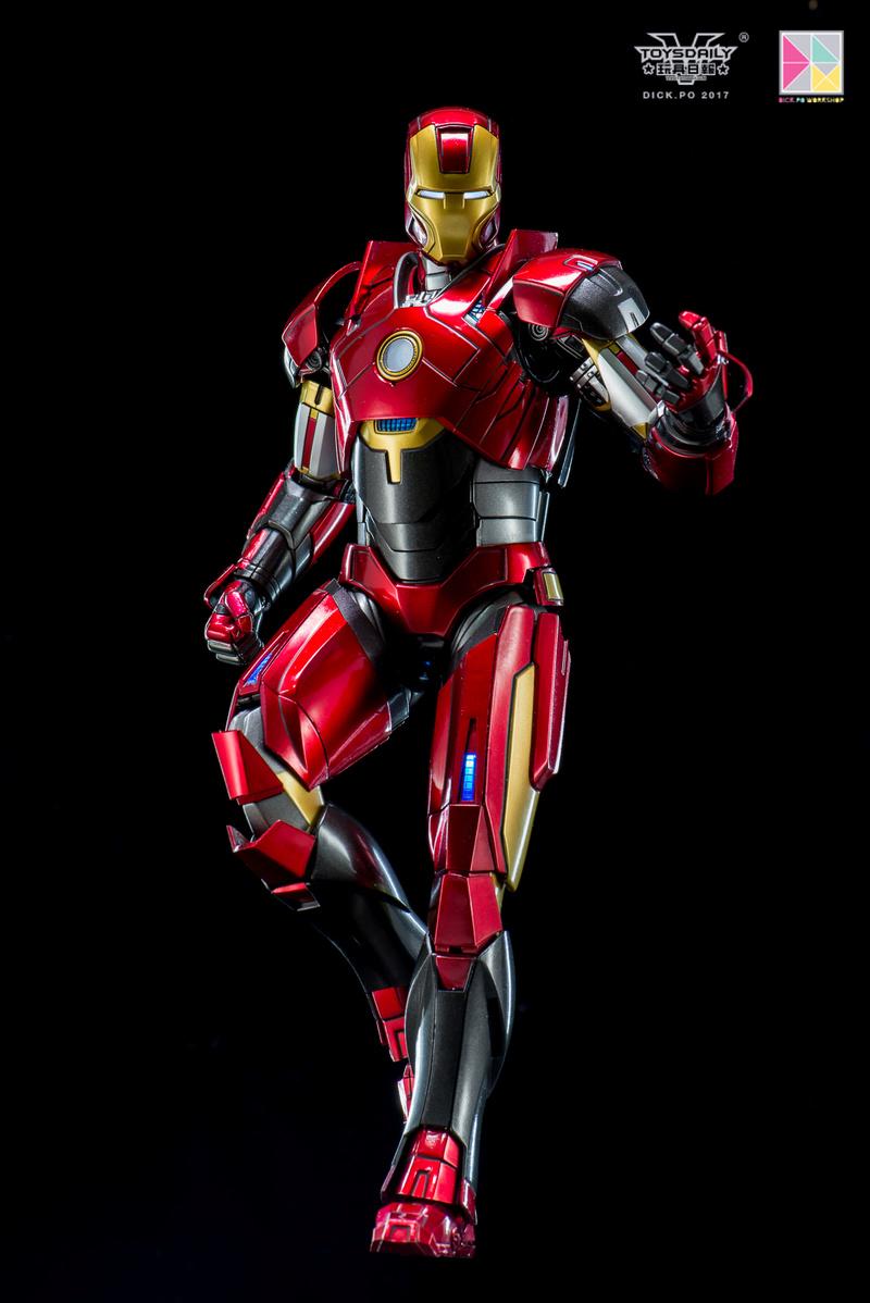 Iron Man 3 - Mark 16 NightClub - 1/9 Diecast (King Arts)  18054910