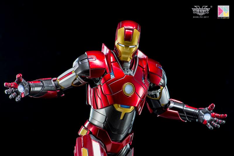 Iron Man 3 - Mark 16 NightClub - 1/9 Diecast (King Arts)  18054911