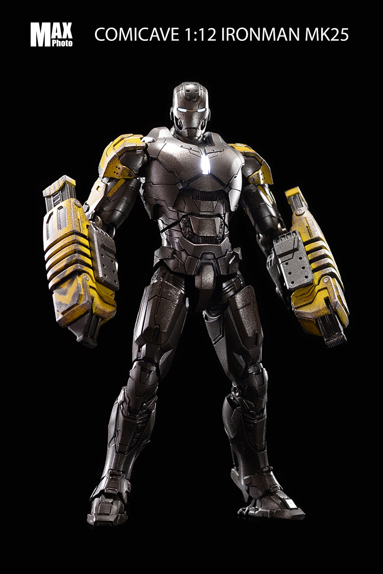 Iron Man 3 - Mark 25 (Striker) et Mark 30 - 1/12 (Comicave) 18205510